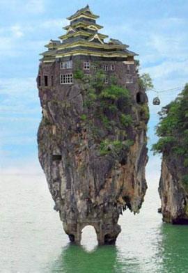 قصر عجیب حالا چطور میشه توش رفت؟